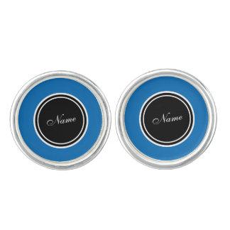 Cool Elegant Dazzling Blue Cuff Links