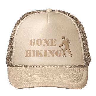 cool, elegant khaki gone hiking sports hat. cap