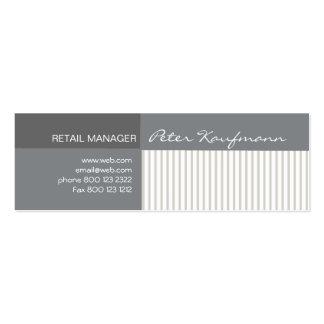Cool Elegant Pinstripes Business Card Templates