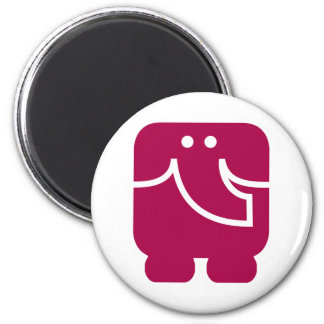 Cool Elephant icon design Fridge Magnet