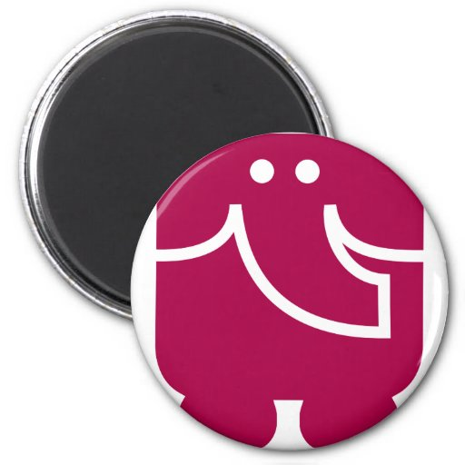 Cool Elephant icon design Magnet