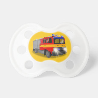 Cool Emergency Fire Engine Cartoon Design for Kids Dummy