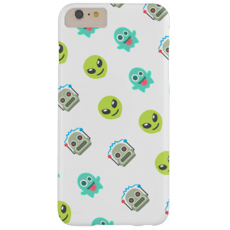 Cool Emoji Alien Ghost Robot Face Pattern Barely There iPhone 6 Plus Case