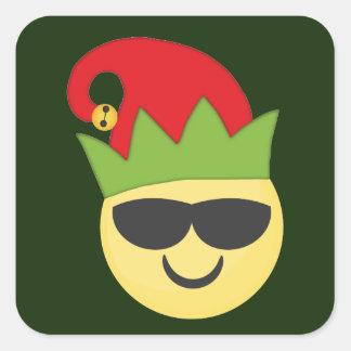 Cool Emoji Elf Stickers