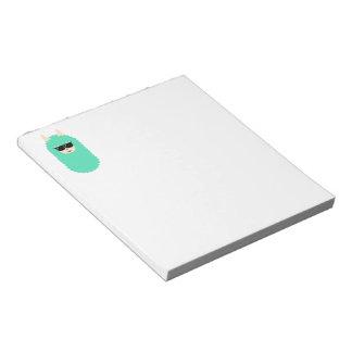 Cool Emoji Llama Notepad
