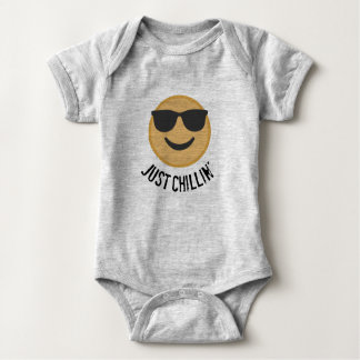 Cool Emoticon Baby Bodysuit