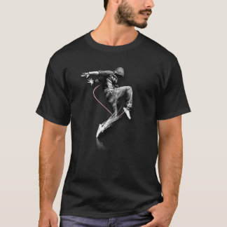 Cool Energetic Street Dancer Personalised Gift T-Shirt