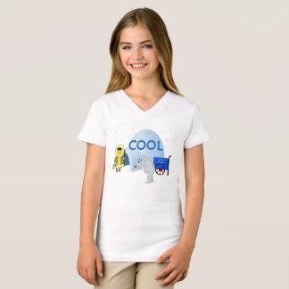 Cool Eskimo and Polar Bear T-Shirt