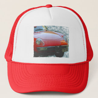 Cool European Car Alfa Romeo Spider Trucker Hat