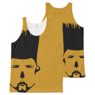 Cool Fade All-Over Printed Unisex Tank