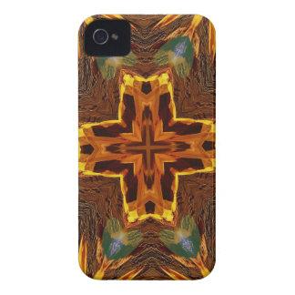 Cool Fall Flaming Arrows Mandela Case-Mate iPhone 4 Case