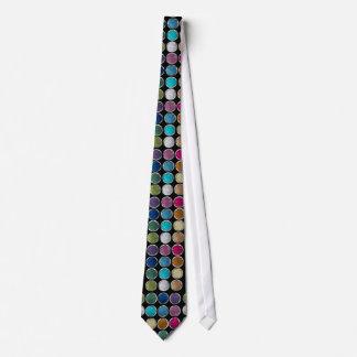 cool Fashionable shining colourful glitter eye sha Tie