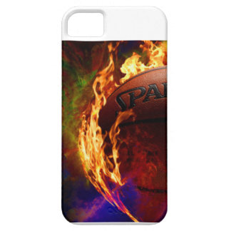Cool fiery basketball case. barely there iPhone 5 case