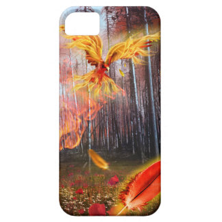 Cool Fiery Phoenix Fantasy Forest Case iPhone 5 Cover