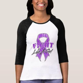 Cool Fight Like A Girl Lupus T-shirt
