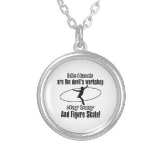 Cool Figure Skating designs Necklaces