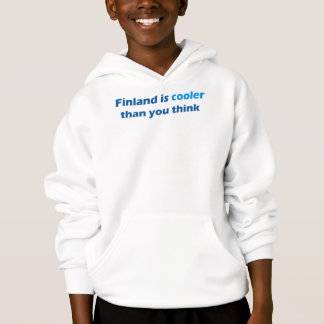 Cool Finland Front Design Hooded Sweat