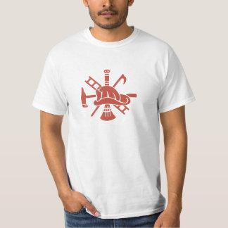 cool fireman t-shirt