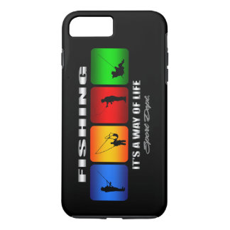 Cool Fishing It Is A Way Of Life iPhone 7 Plus Case