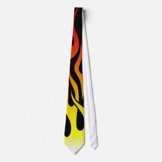 cool flames tie