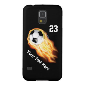 Cool Flaming Soccer Phone Cases NEW Galaxy S5