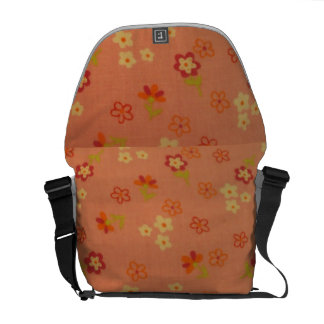 cool floral pattern messenger bags