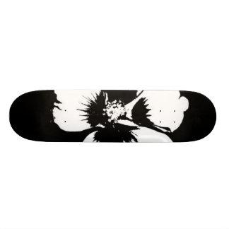 cool flower design skateboard