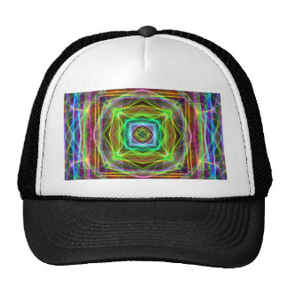 Cool Fluorescent Electrifying Pastel Squares Cap