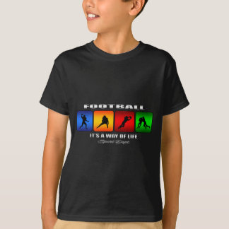 Cool Football It Is A Way Of Life T-Shirt