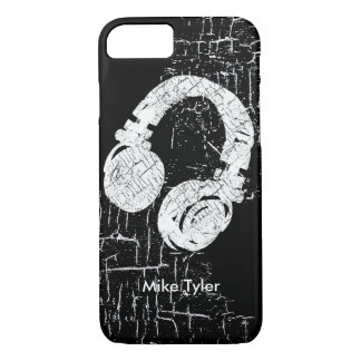 cool for the deejay - a d.j. headphone iPhone 8/7 case
