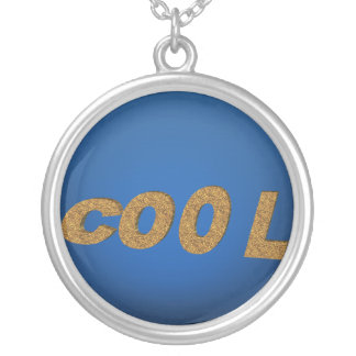 cool for you round pendant necklace
