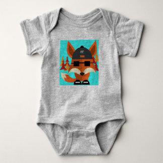 Cool fox baby bodysuit