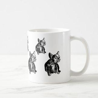 Cool French Bulldog Puppy Drawing Art  Mug