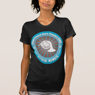 Cool French Horn Players Club T-Shirt