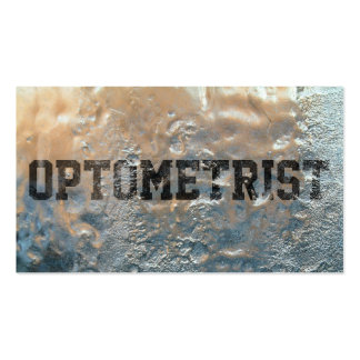 Cool Frozen Ice Optometrist Business Card