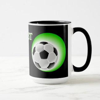 Cool Fun Awesome Worlds Best Soccer Dad Mug