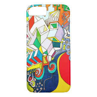 Cool Funky Art iPhone 8/7 Case