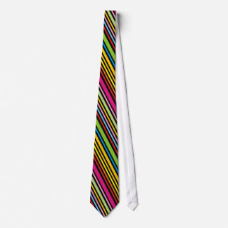 Cool Funky Retro Colorful Striped Ties