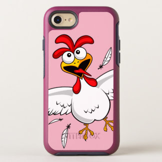 Cool Funny Cute Humorous Cartoon Chicken For Kids OtterBox Symmetry iPhone 8/7 Case