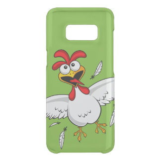 Cool Funny Cute Humorous Cartoon Chicken For Kids Uncommon Samsung Galaxy S8 Case