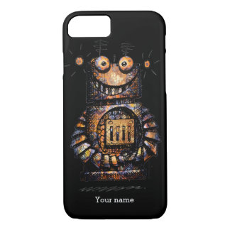 Cool Funny Robot iPhone 7 Case