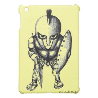 Cool funny Spartan graphic art ipad design iPad Mini Case