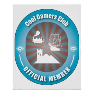 Cool Gamers Club Poster