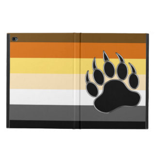 Cool Gay Bears Pride Flag Bear Paw Powis iPad Air 2 Case