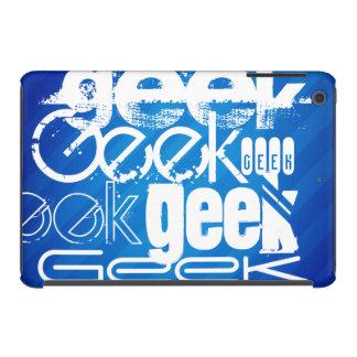 Cool Geek; Royal Blue Stripes iPad Mini Cover