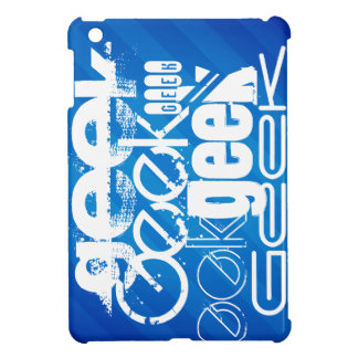 Cool Geek; Royal Blue Stripes Cover For The iPad Mini