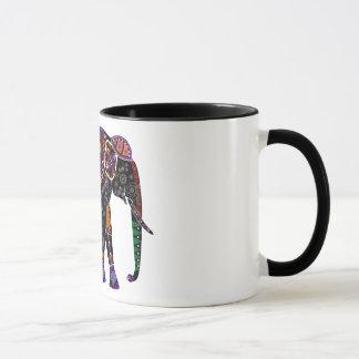 Cool Gentle Giant Colorful Elephant Mug