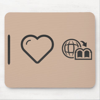 Cool Geography Structures Mouse Pad