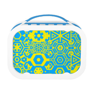 Cool Geometric Design 4Cliff Lunch Boxes