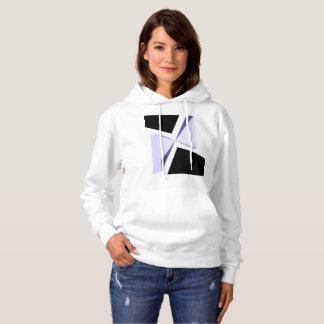 Cool geometric design hoodie